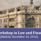 workshop law finance
